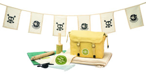 Mumma and Mia | The Den Kit Company Pirate Den Kit to get kids outdoors and exploring nature