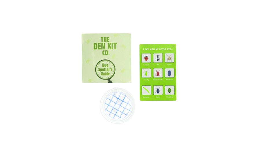 The Den Kit Bug Spotter Kit getting kids in nature and learning about bugs and insects