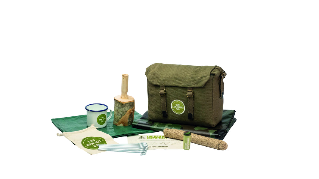 The Den Kit Company The Orginal Den Making Kit for getting kids outdoor exploring nature