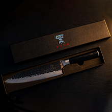 Load image into Gallery viewer, Kuro 'Getsuga' Knife Set (Knife, magnetic board, whetstone)