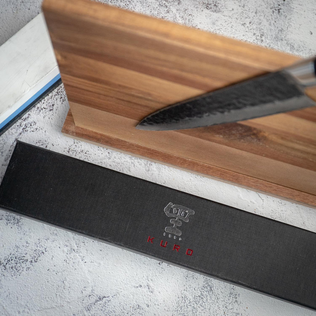 Kuro 'Getsuga' Knife Set (Knife, magnetic board, whetstone)