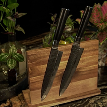 Load image into Gallery viewer, Kuro Magnetic Knife Stand