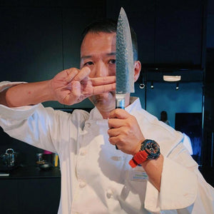 Kuro 'Getsuga' Chef Knife