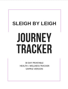 Sleigh By Leigh Journey Tracker (Sample)