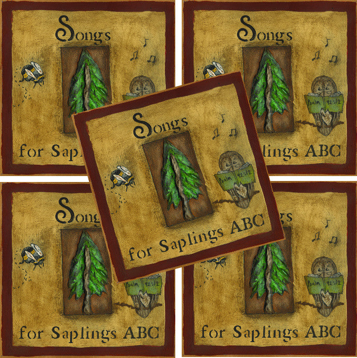 5-Pack: Songs for Saplings: ABC (CD Format - Special Church Partner Pricing)