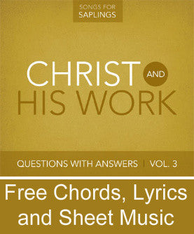 Questions with Answers Vol. 3: Christ and His Work - Free Resources
