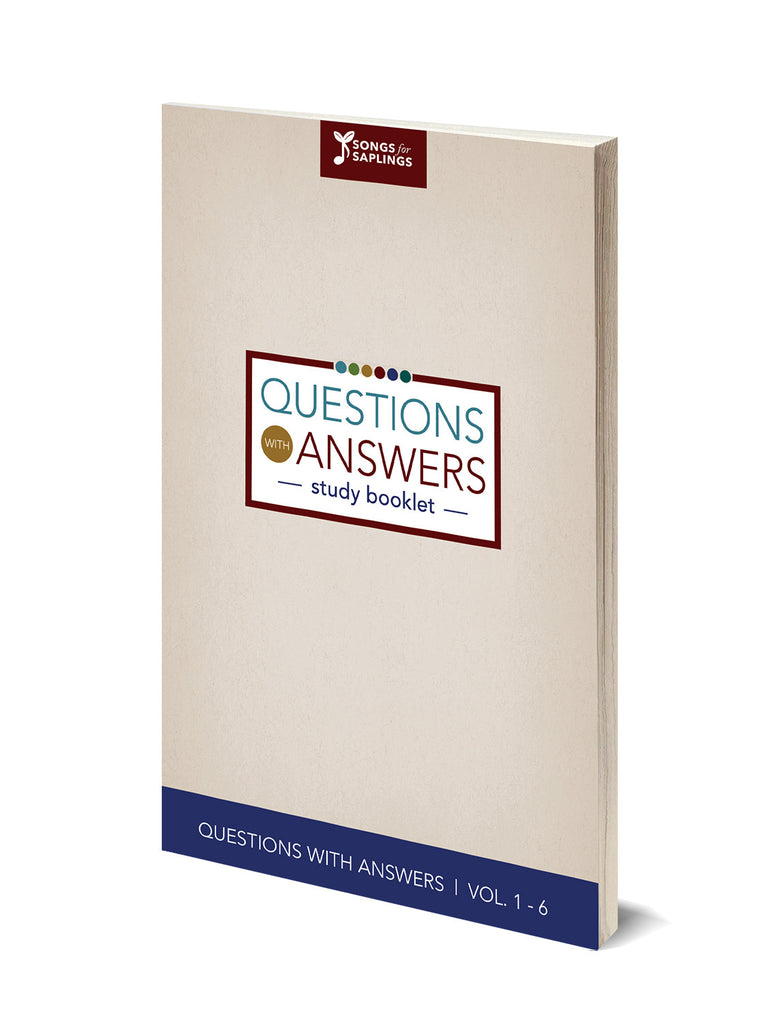 Questions with Answers - Study Guide (Pack of 5)
