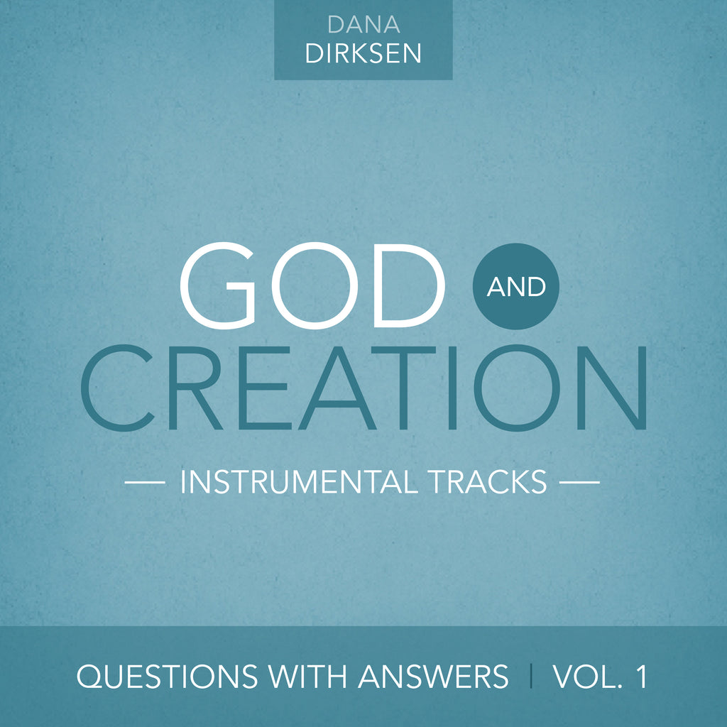 INSTRUMENTAL TRACKS: Questions with Answers Vol. 1: God and Creation (Digital Music Download)
