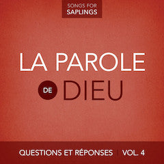 French - Questions et Réponses Vol. 4: La Parole de Dieu  (Digital Music Download)