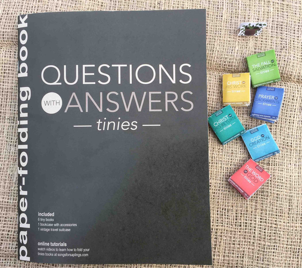 Questions with Answers Tinies Paper Folding Book