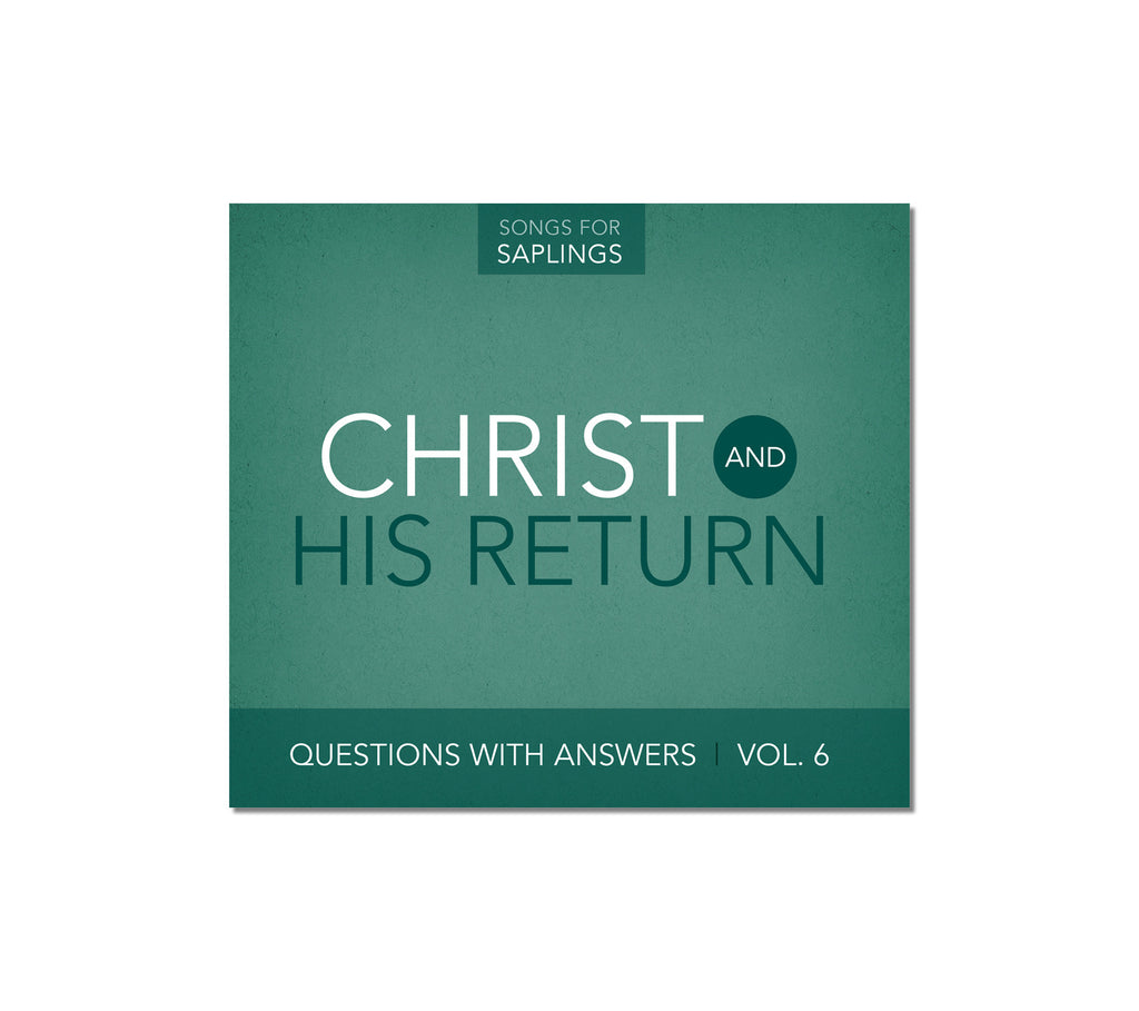 Questions with Answers Vol. 6: Christ and His Return (CD Format)