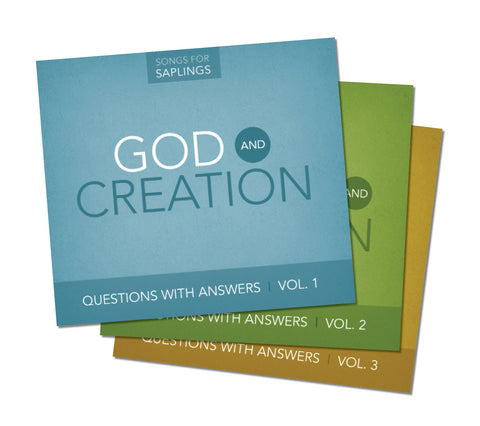 Questions with Answers Bundle: Volumes 1-3 (CD Format)