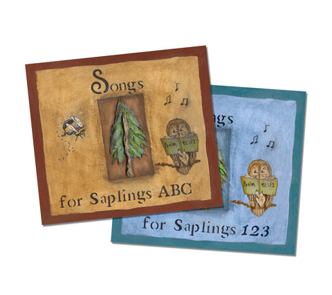 Songs for Saplings ABC and 123: 2-CD Set
