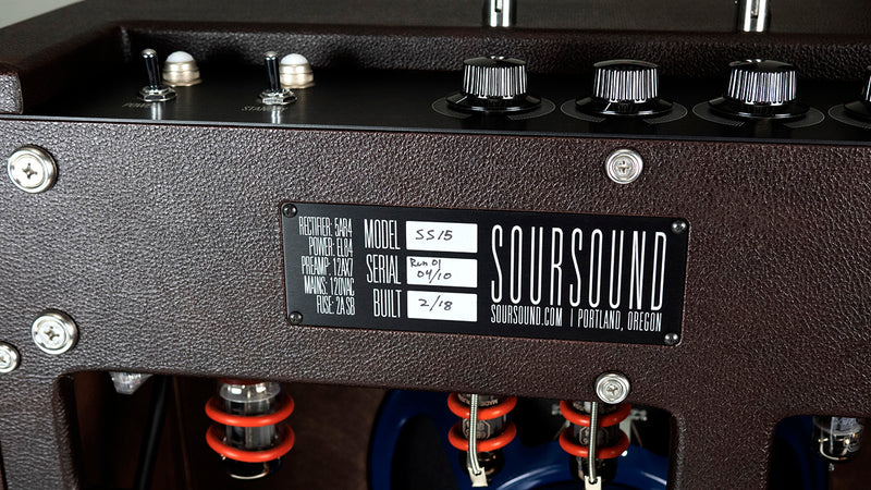 SS15 15 Watt Combo Amplifier | Limited Run 2018