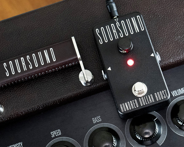 Soursound Hundred Dollar Boost version 2.0