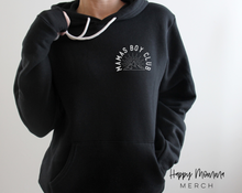 Load image into Gallery viewer, Mamas boy club / cozy unisex hoodie - Happy momma merch