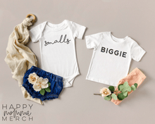 Load image into Gallery viewer, BIGGIE smalls / Sibling set - Happy momma merch