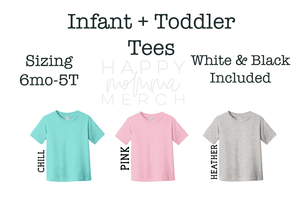 BUBS Tee / Infant + Toddler - Happy momma merch