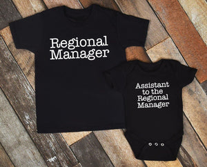 Regional Manager + Assistant to the regional manager / Adult + Infant or Toddler