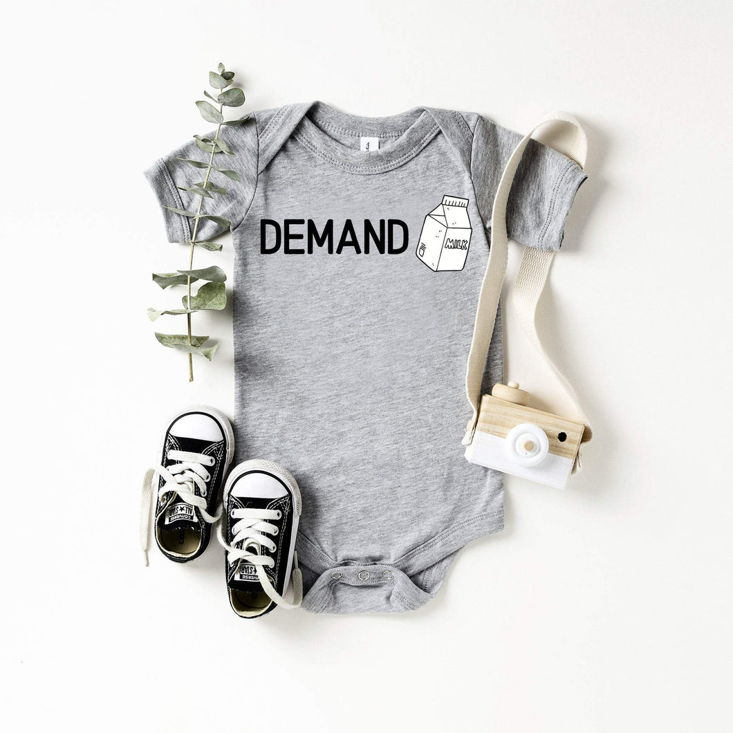 Demand / Infant bodysuit / Supply and demand - Happy momma merch