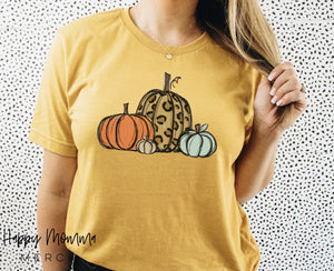Colorful pumpkin / unisex tee - Happy momma merch