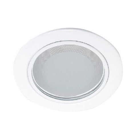13802 Glass recessed white 1x9W 230V