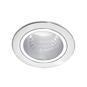 66664 recessed nickel 1x18W 230V