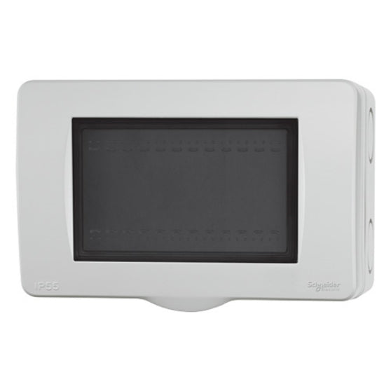 WEATHER PROOF WITH SURFACE MOUNTED ENCLOSURE HORIZONTAL