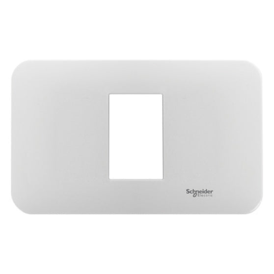 1 GANG FLUSH PLATE WITH PLASTIC GRID HORIZONTAL (FOR SIZE S)