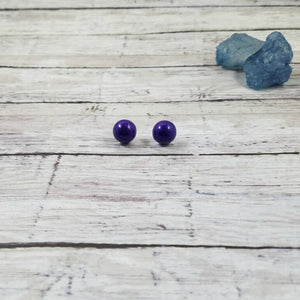 Glitter Bomb Stud Earrings