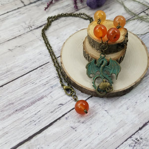 Harvest Dragon Pendant