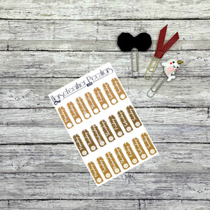 Date Cover Planner Stickers