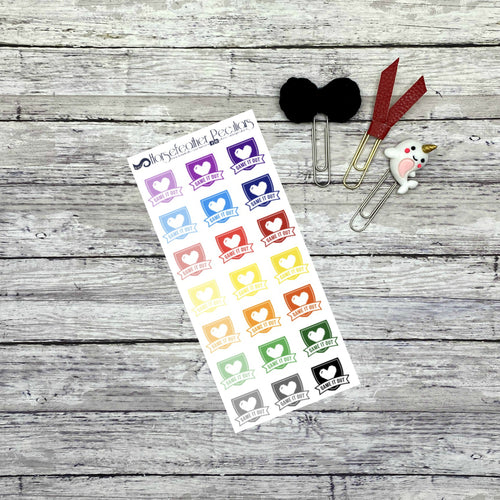 Game it Out Planner Stickers