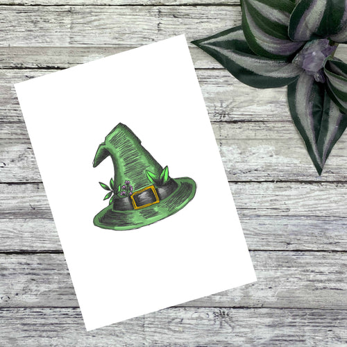 Green Witch Journaling Cards and Dashboards
