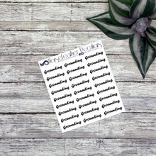 Load image into Gallery viewer, Grounding Script Planner Stickers