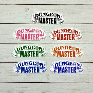Dungeon Master Diecut Stickers