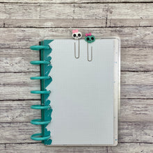 Load image into Gallery viewer, Kawaii Skull Planner Paperclip