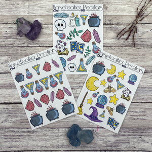 Witchy Bundle Planner Stickers