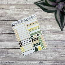 Load image into Gallery viewer, Green Witch Planner Sticker Kit