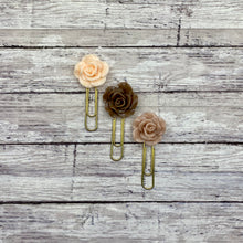 Load image into Gallery viewer, Nude Rose Planner Paperclip Set