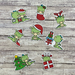 Christmas Dragons Weekly Sticker Kit