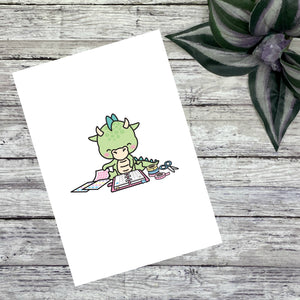Planner Dragon Journaling Cards and Dashboards