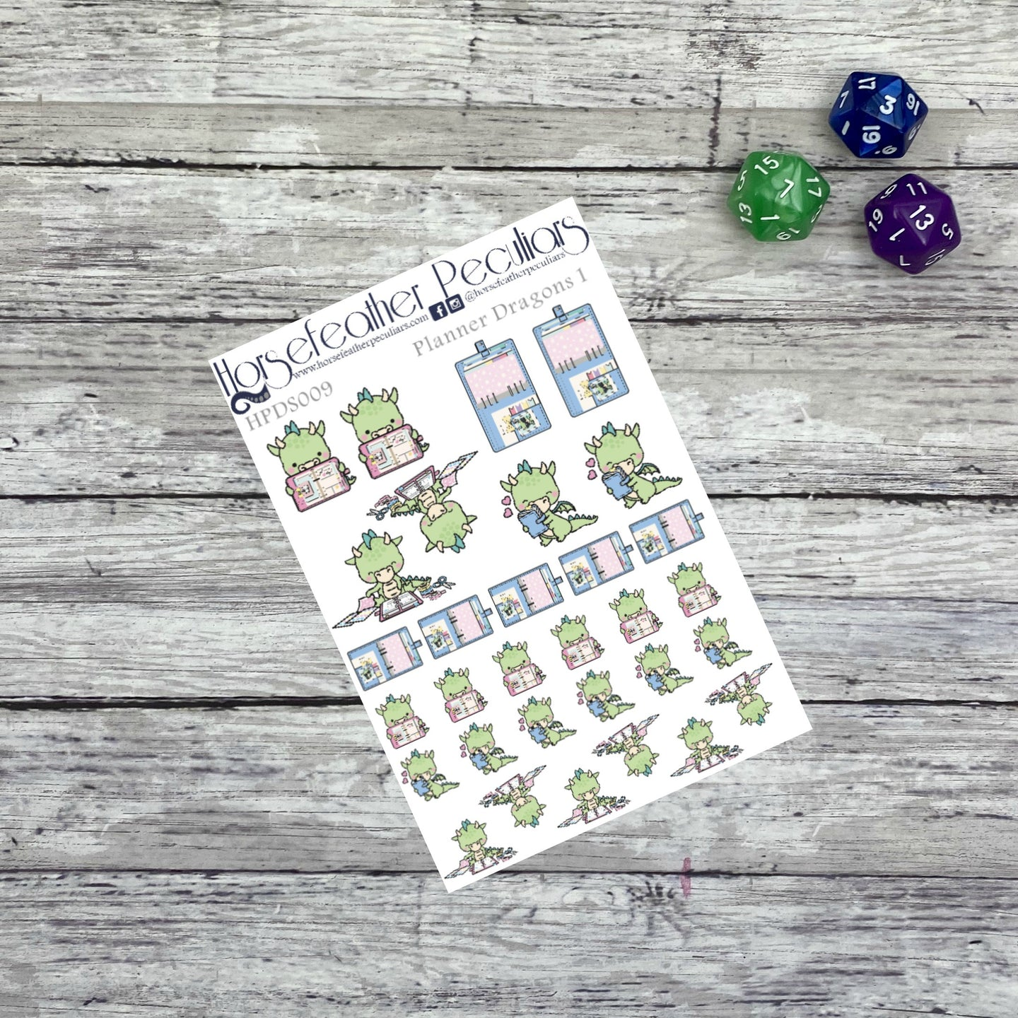 Planner Dragons Planner Stickers