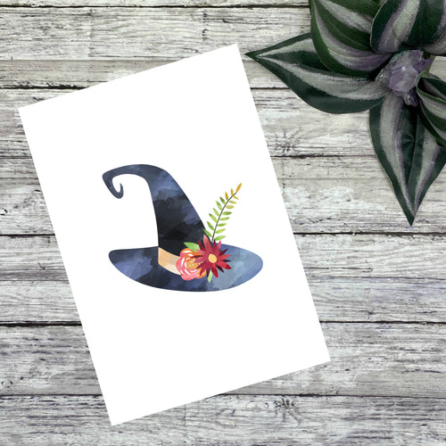 Watercolor Witch Journaling Cards and Dashboards
