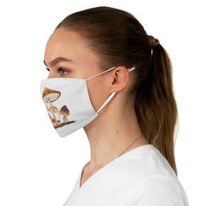 Mushroom Colony Fabric Face Mask
