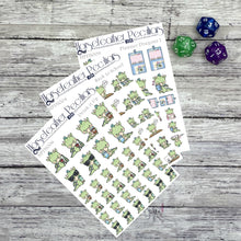 Load image into Gallery viewer, Back to School Dragon Planner Stickers Bundle