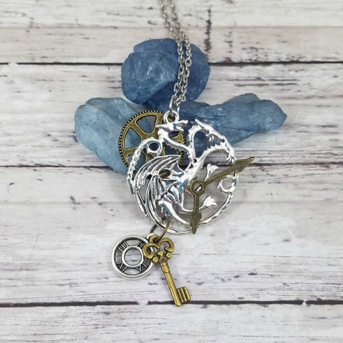 Keeper of Time Dragon Pendant