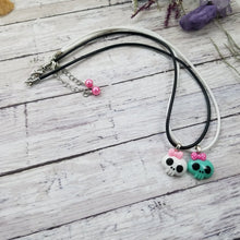 Load image into Gallery viewer, Kawaii Skull Necklace