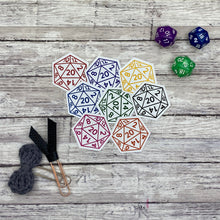 Load image into Gallery viewer, D20 Die Cut Planner Stickers