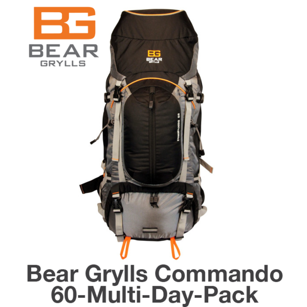 Bear Grylls Commando 60-Multi-Day Pack: A Review